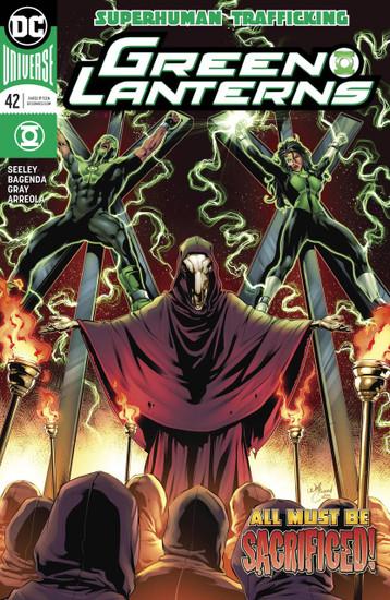 DC Green Lanterns #42 Comic Book