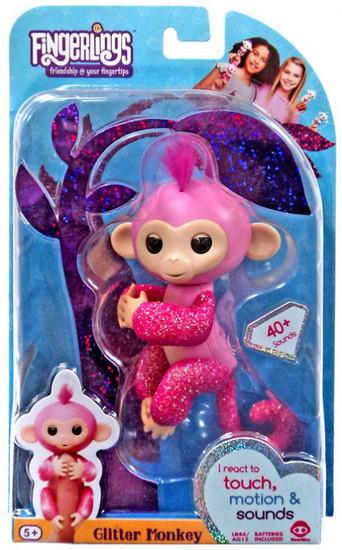 Fingerlings Glitter Monkey Rose Figure [Regular]