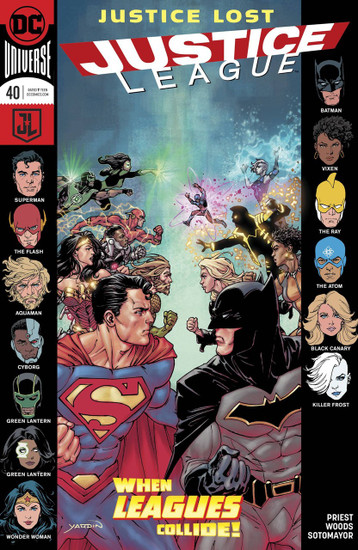 DC Justice League #40 Comic Book