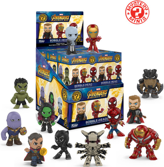 Funko Marvel Mystery Minis Avengers Infinity War Mystery Box [12 Packs]