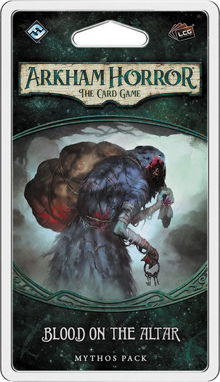 Arkham Horror The Card Game Dunwich Legacy Blood On The Altar Mythos Pack