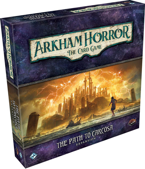 Arkham Horror The Card Game The Path To Carcosa Deluxe Expansion