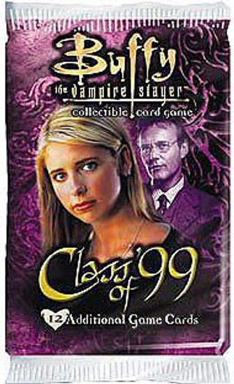 Buffy The Vampire Slayer Collectible Card Game Class of '99 Booster Pack [12 Cards]