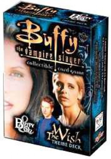 Buffy The Vampire Slayer Collectible Card Game The Wish Buffy Theme Deck