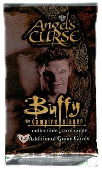 Buffy The Vampire Slayer Collectible Card Game Angel's Curse Booster Pack [12 Cards]