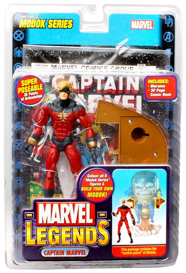 Marvel Legends Series 15 M.O.D.O.K. Captain Marvel Action Figure