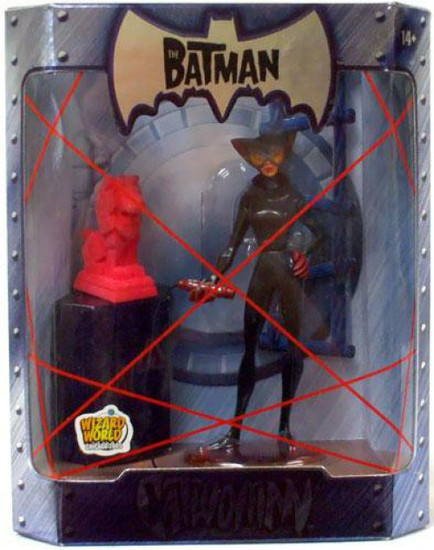 The Batman Catwoman Exclusive Action Figure [Pink Fuzzy Statue Variant]