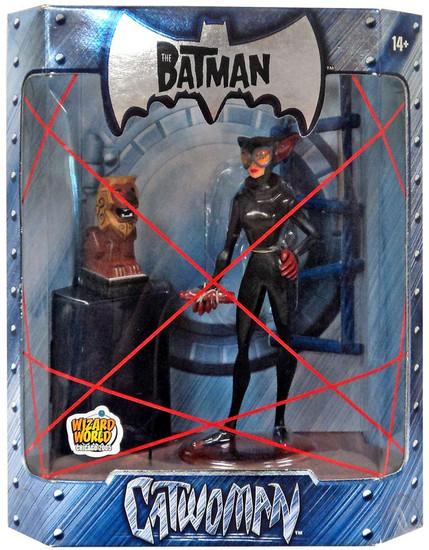 The Batman Catwoman Exclusive Action Figure [Lion Statue Variant]