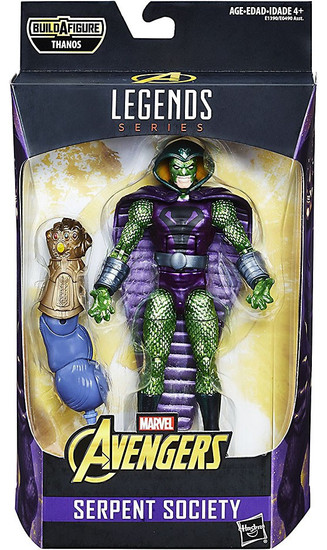 Avengers Infinity War Marvel Legends Thanos Series Serpent Society Action Figure