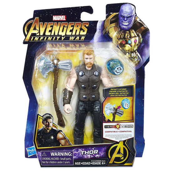 Marvel Avengers Infinity War Thor Action Figure [with Stone]