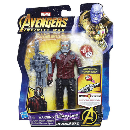 Marvel Avengers Infinity War Starlord Action Figure [with Stone]