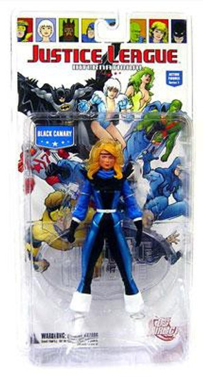 DC Justice League International Series 1 Black Canary Action Figure