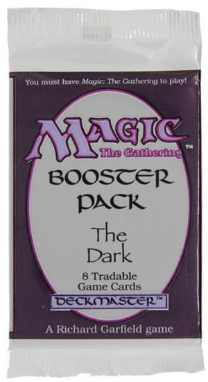 MtG Trading Card Game The Dark Booster Pack [8 Cards]