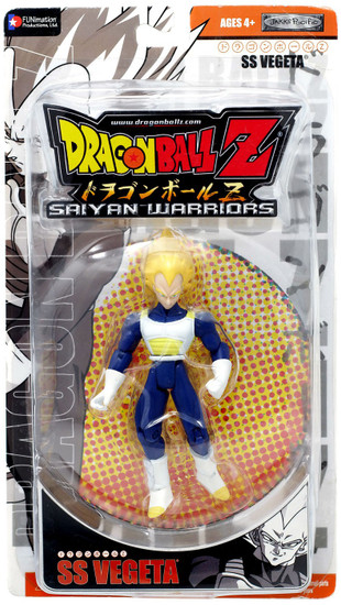 Dragon Ball Z Saiyan Warriors SS Vegeta Action Figure