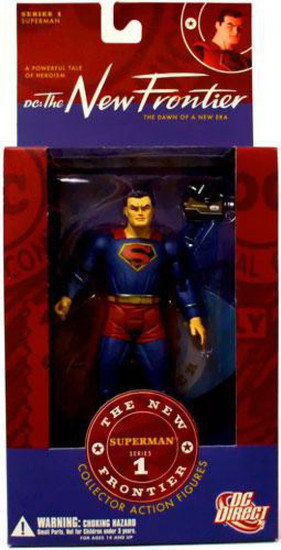 DC The New Frontier Series 1 Superman Action Figure