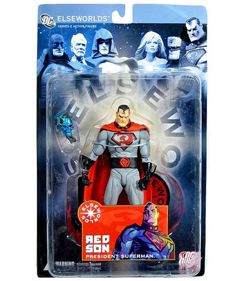 DC Elseworlds Series 2 Red Son President Superman Action Figure