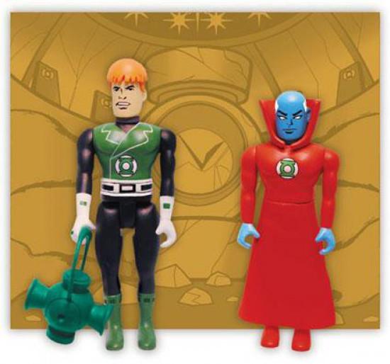 DC Green Lantern Pocket Super Heroes Guy Gardner & Guardian Action Figure 2-Pack