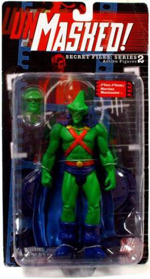 DC Secret Files Series 2 Unmasked J'onn J'onzz / Martian Manhunter Action Figure