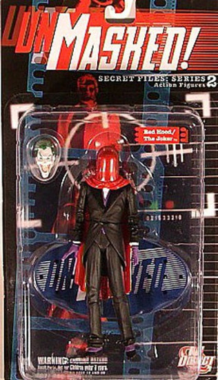 Batman Secret Files Series 2 Unmasked Red Hood / The Joker Action Figure
