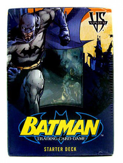 DC VS System Trading Card Game Batman Starter Deck [Sealed]