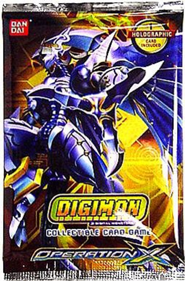 Digimon Trading Card Game Operation X Booster Pack [10 Cards]