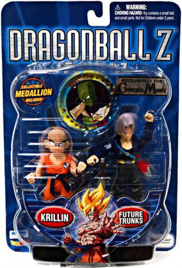 Dragon Ball Z Krillin & Future Trunks Exclusive Action Figure 2-Pack