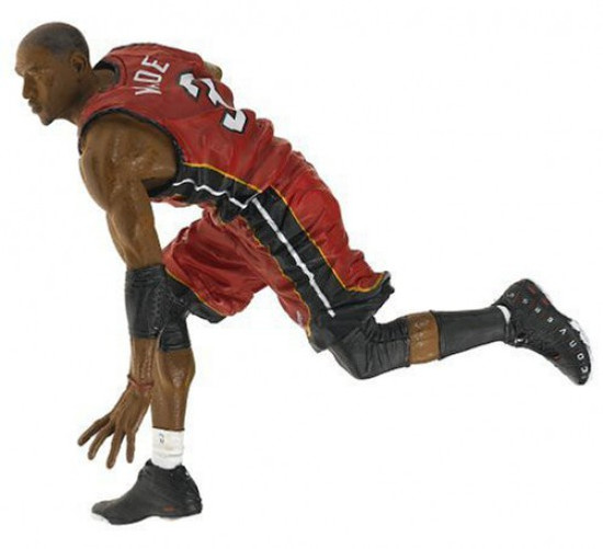 McFarlane Toys NBA Miami Heat Sports Picks Series 9 Dwyane Wade Action Figure [Red Jersey Variant]