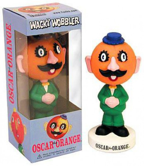 Funko Wacky Wobbler Oscar the Orange Bobble Head