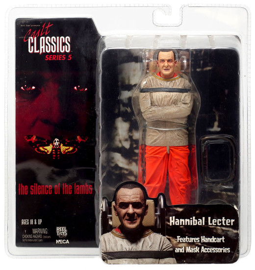 NECA Silence of the Lambs Cult Classics Series 5 Hannibal Lecter Action Figure