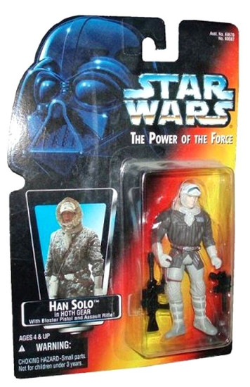Star Wars The Empire Strikes Back Power of the Force POTF2 Han Solo in Hoth Gear Action Figure