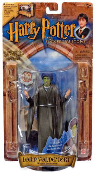 Harry Potter The Sorcerer's Stone Lord Voldemort Action Figure [Quirrel Variant]