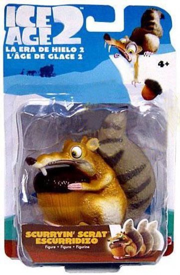 Ice Age 2 The Meltdown Scurryin' Scrat 4-Inch Wind Up Figure