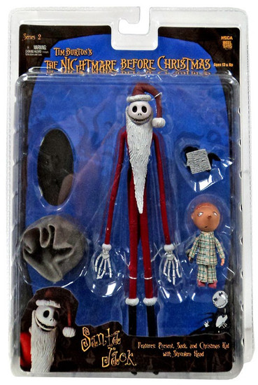 NECA Nightmare Before Christmas Series 2 Santa Jack Action Figure