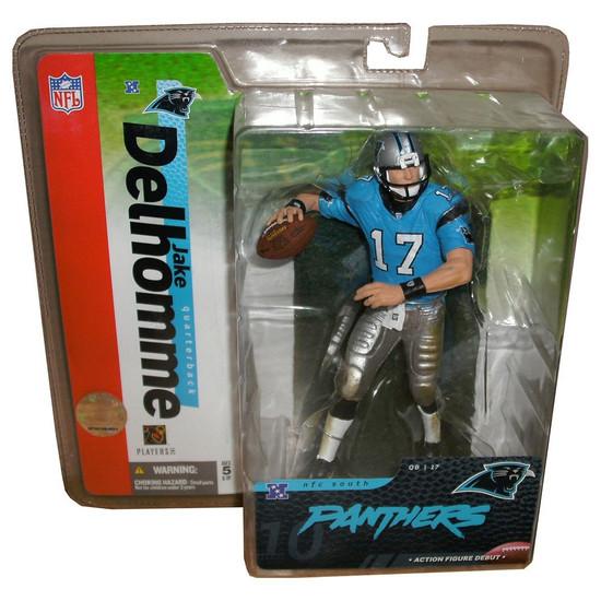 McFarlane Toys NFL Carolina Panthers Sports Picks Series 10 Jake Delhomme Action Figure [Blue Jersey Variant]