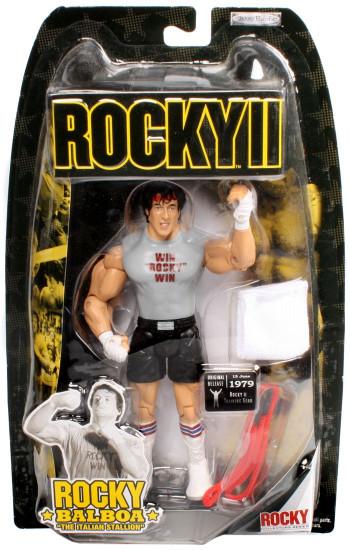 Rocky II Series 2 Rocky Balboa Action Figure [Training]