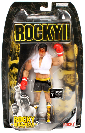 Rocky II Series 2 Rocky Balboa Action Figure [Post-Fight]