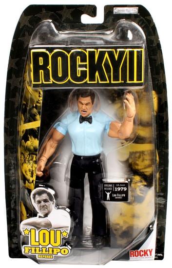 Rocky II Series 2 Lou Fillipo Action Figure