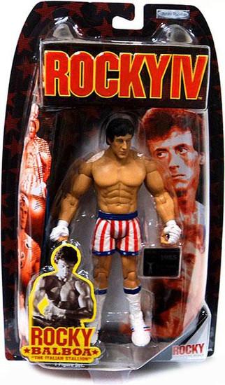Rocky IV Series 4 Rocky Balboa Action Figure [Pre Fight]