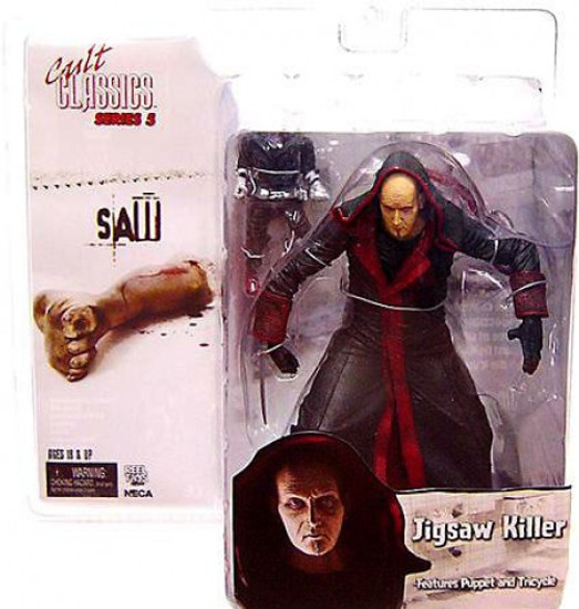 NECA Cult Classics Series 5 Jigsaw Killer Action Figure [Unmasked]