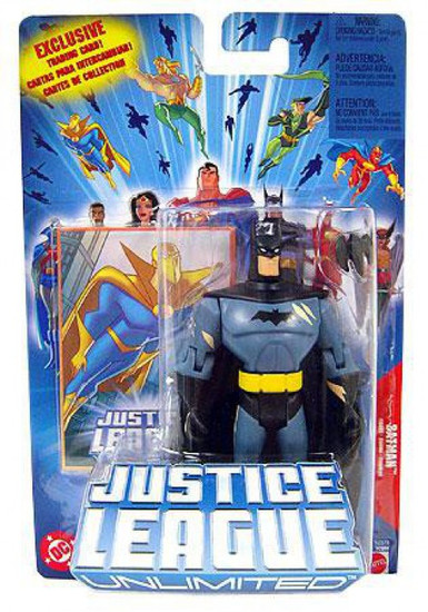 Justice League Unlimited Batman Action Figure [Battle Damaged]