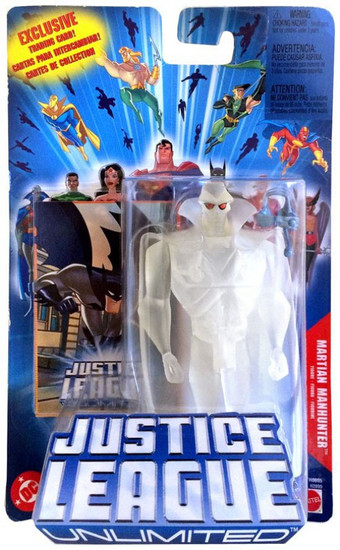 Justice League Unlimited Martian Manhunter Action Figure [Invisible]