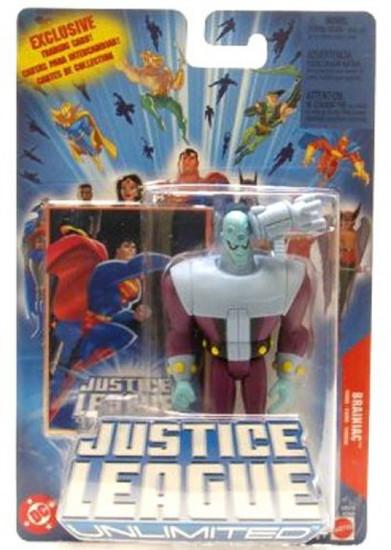 Justice League Unlimited Brainiac Action Figure