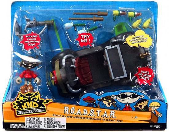 Codename Kids Next Door R.O.A.D.S.T.A.R. Vehicle [Damaged Package, Mint Contents]