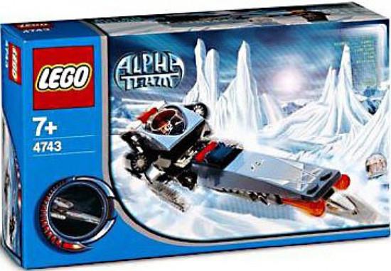 Lego  Figur Alpha Team Charge  Arctic  ALP024 aus Set 4743 4746