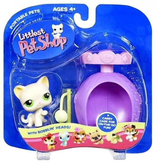 Littlest Pet Shop Portable Pets Cat Figure [Scratching Post]