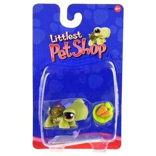 Littlest Pet Shop Turtle Figure [With Carrots]