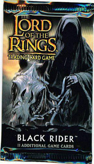 The Lord of the Rings Trading Card Game Black Riders Booster Pack [11 Cards]