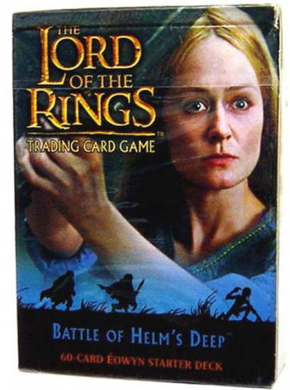 The Lord of the Rings Trading Card Game Battle of Helm's Deep Eowyn Starter Deck