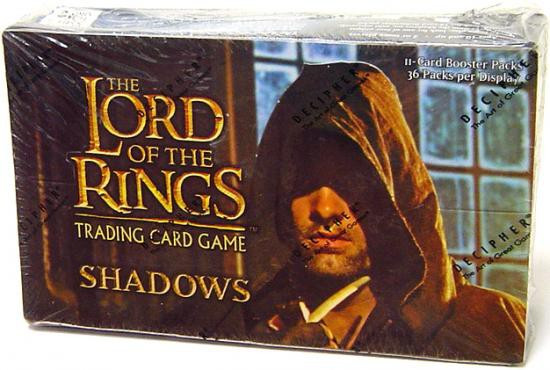 The Lord of the Rings Trading Card Game Shadows Booster Box [36 Packs]