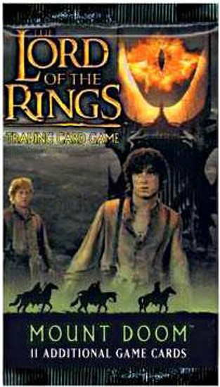 The Lord of the Rings Trading Card Game Mount Doom Booster Pack [11 Cards]